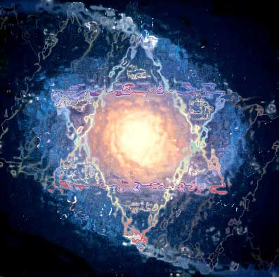 Cosmic Star of David
